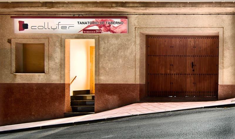 Collyfer Tanatorio en Almeria - Taberno